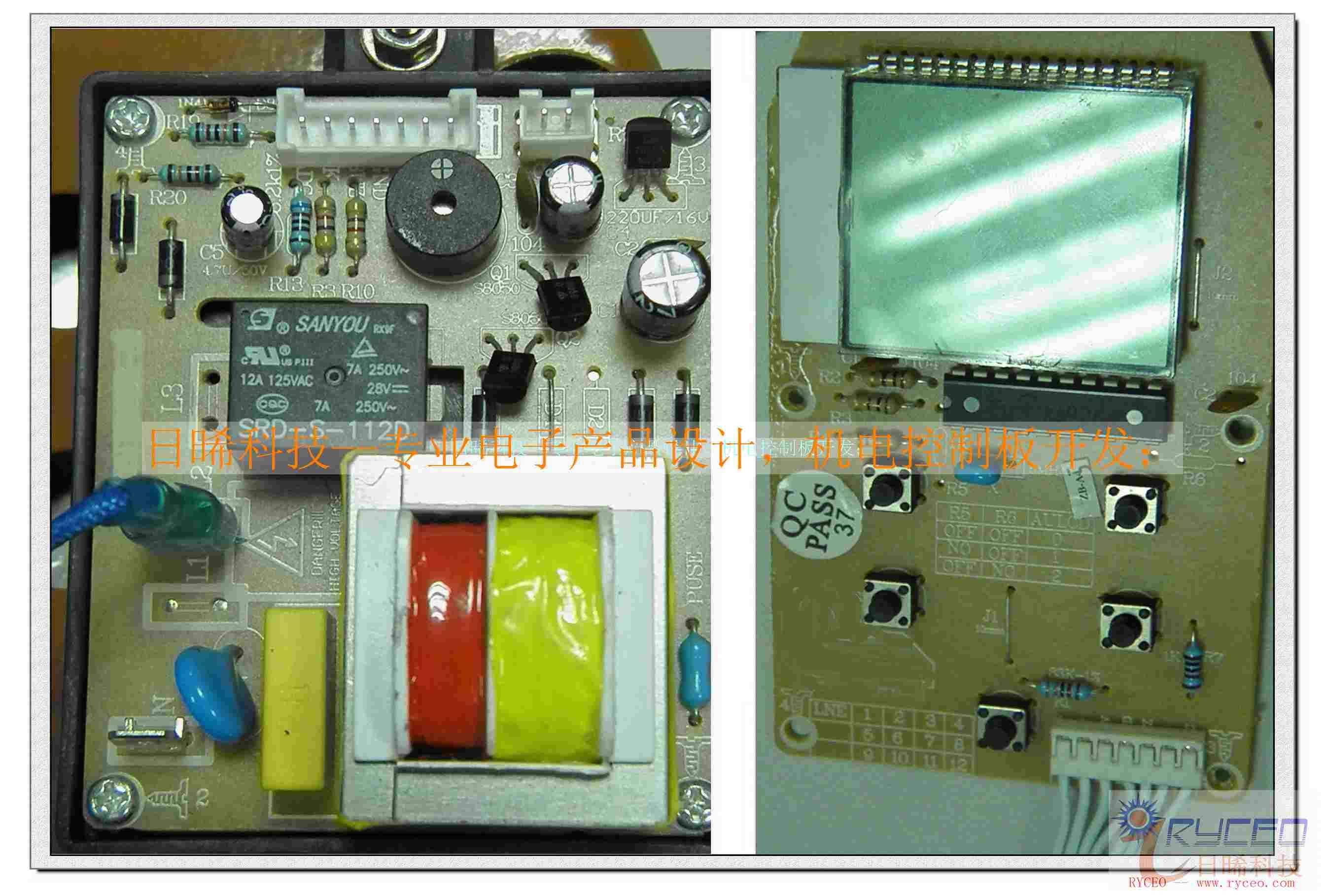 智能水泵控制板;