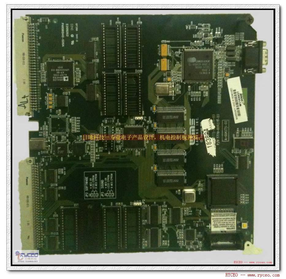 汽车电子-车载微电脑控制板