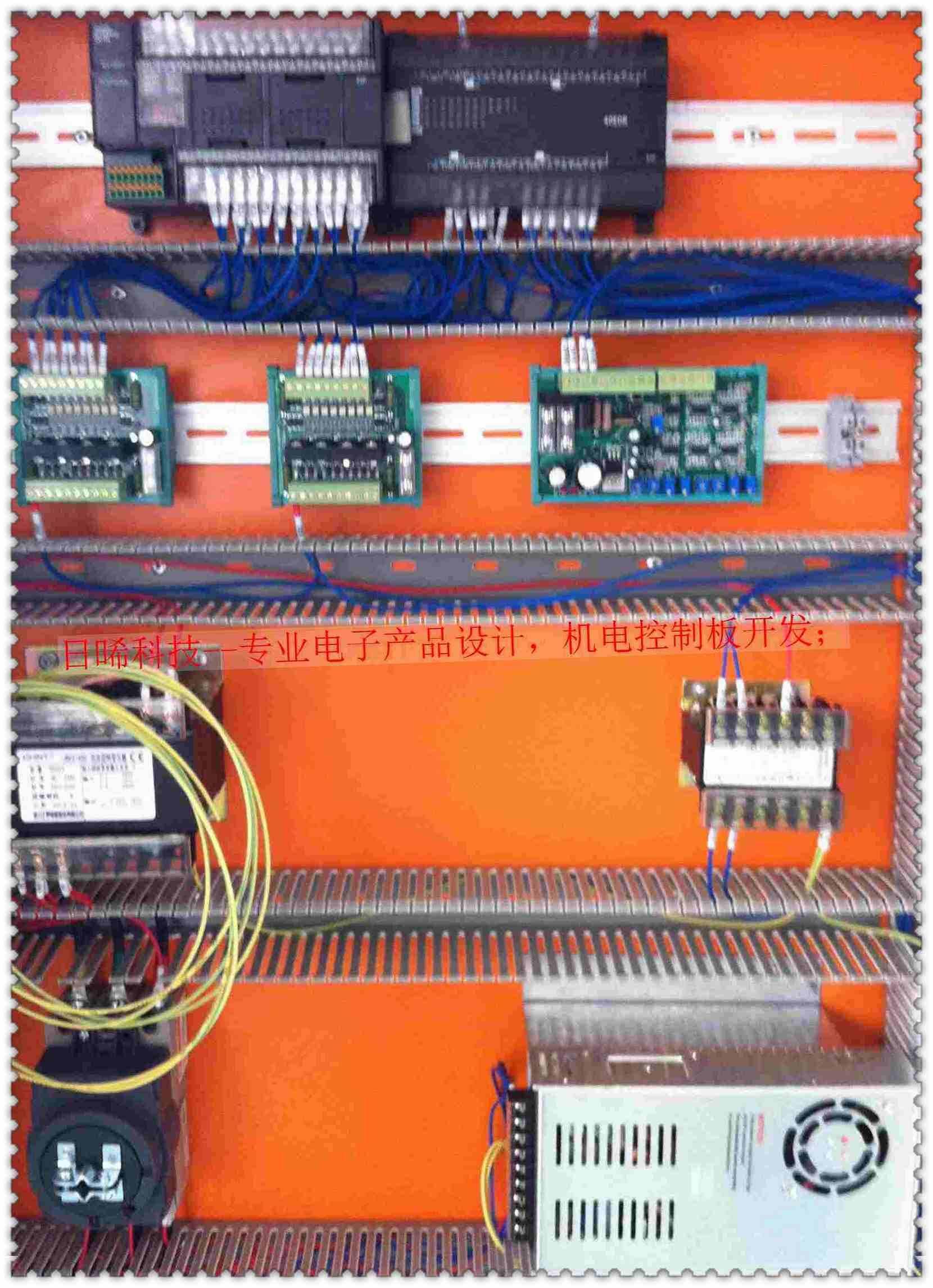 plc自动门直流主电路图
