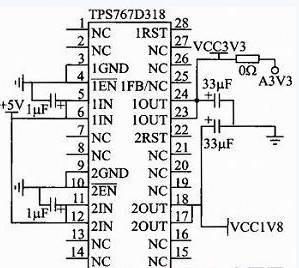 tps767d318外围电路