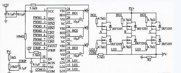 3 控制系统的检测电路设计