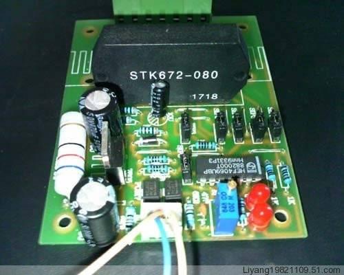脉冲发生器即可完成一个四相步进电机正弦波电流驱动