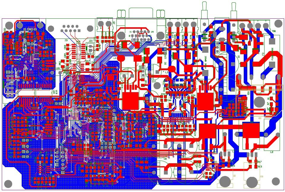 pcb layout电路板设计规则,设计技巧和pcb设计注意事项